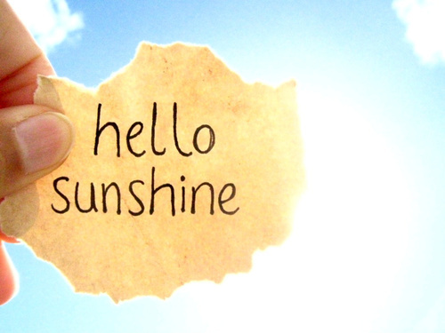 Image result for sunshine